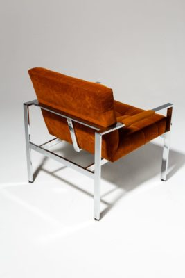 Alternate view 2 of Milo Rust Lounge Chair