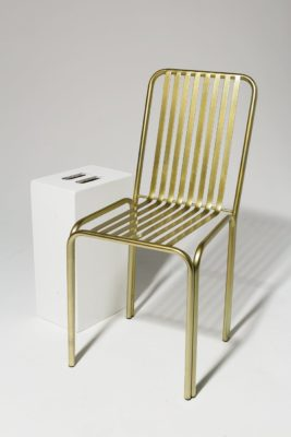 Alternate view 1 of Cook Brass Chair