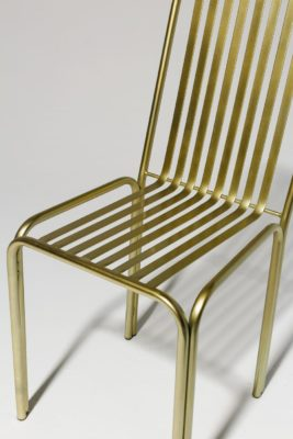 Alternate view 4 of Cook Brass Chair