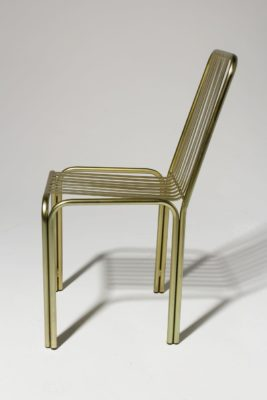 Alternate view 2 of Cook Brass Chair