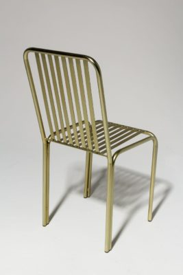 Alternate view 3 of Cook Brass Chair