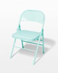 Front view thumbnail of Teal Folding Chair