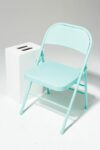 Alternate view thumbnail 1 of Teal Folding Chair