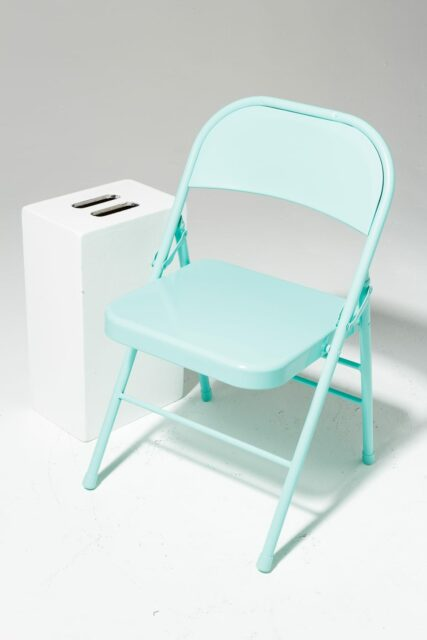Alternate view 1 of Teal Folding Chair
