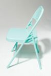 Alternate view thumbnail 2 of Teal Folding Chair