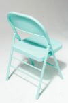 Alternate view thumbnail 3 of Teal Folding Chair