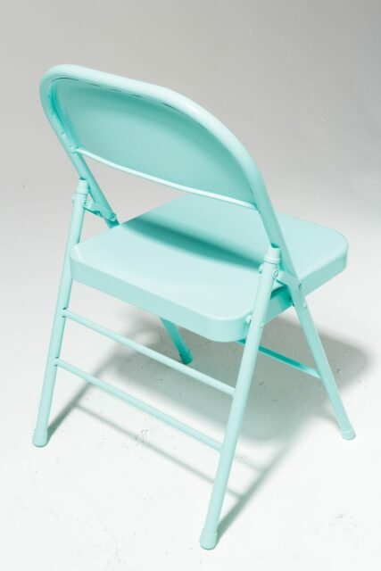 Alternate view 3 of Teal Folding Chair