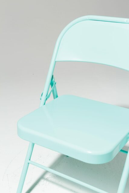 Alternate view 4 of Teal Folding Chair