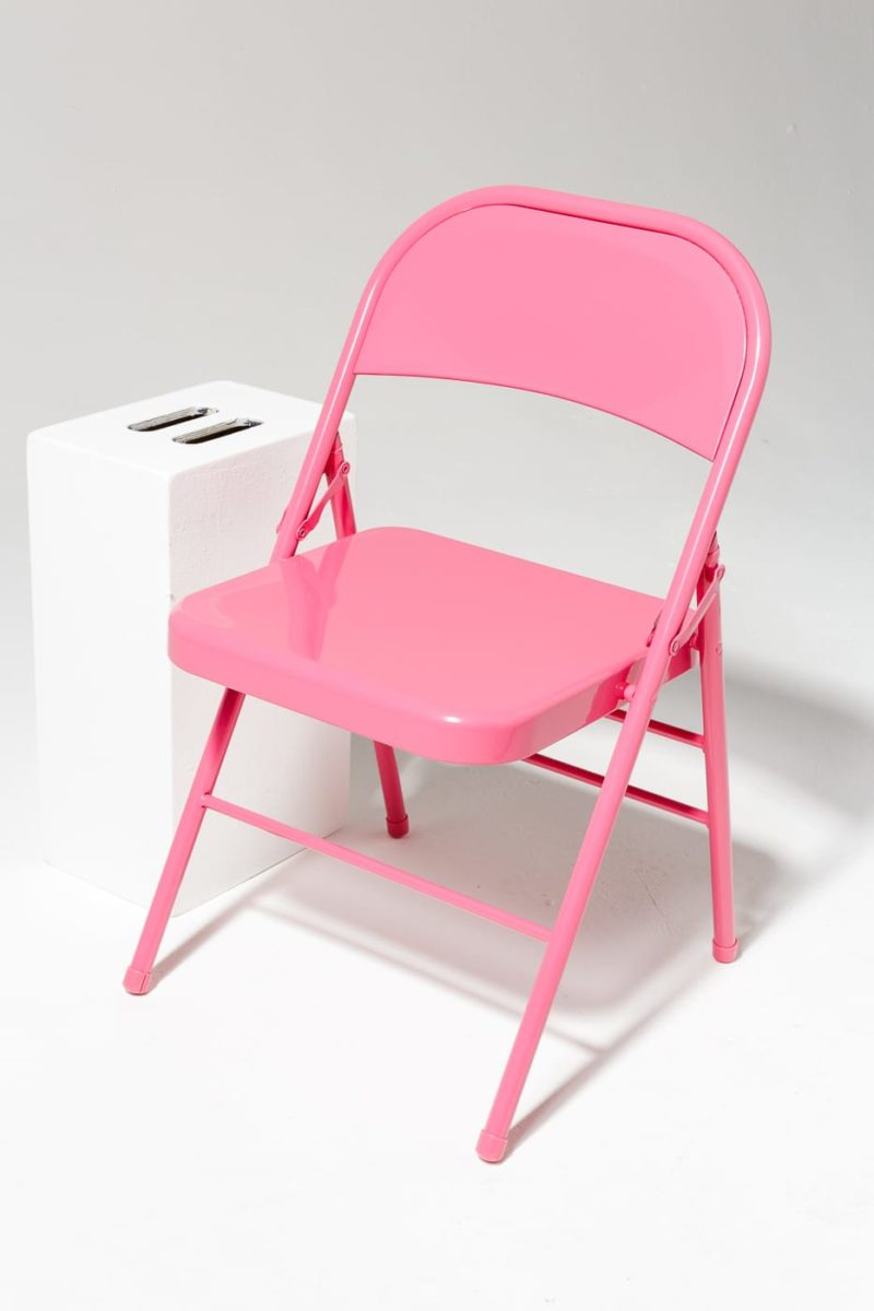 Alternate view 1 of Pink Folding Chair