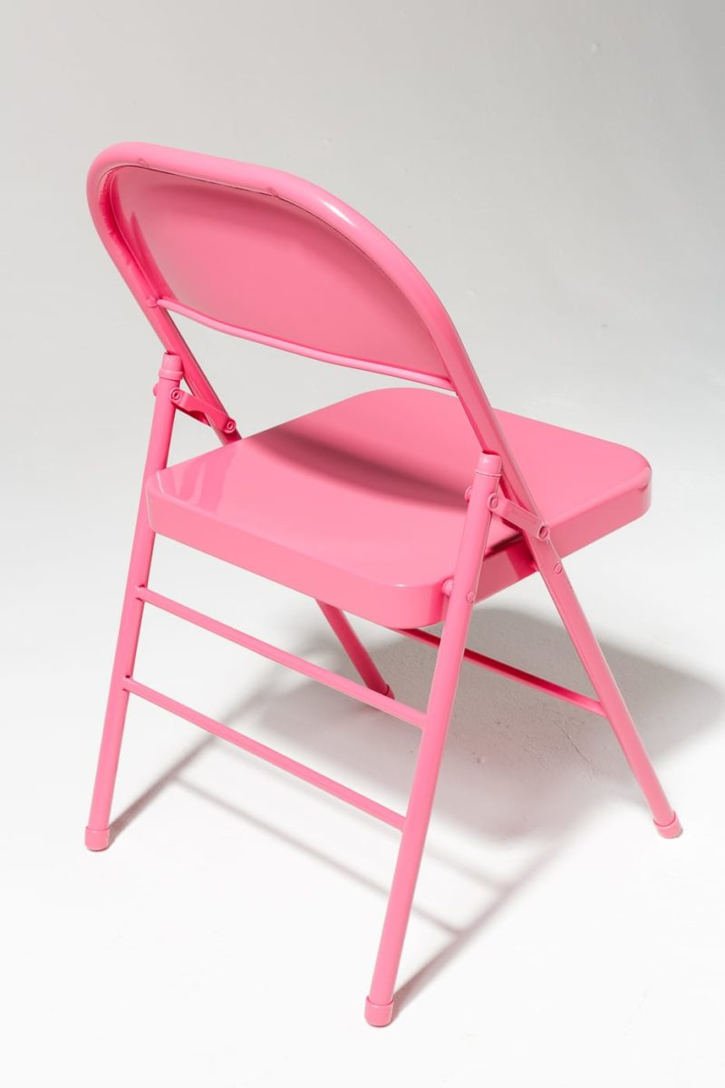 Alternate view 3 of Pink Folding Chair