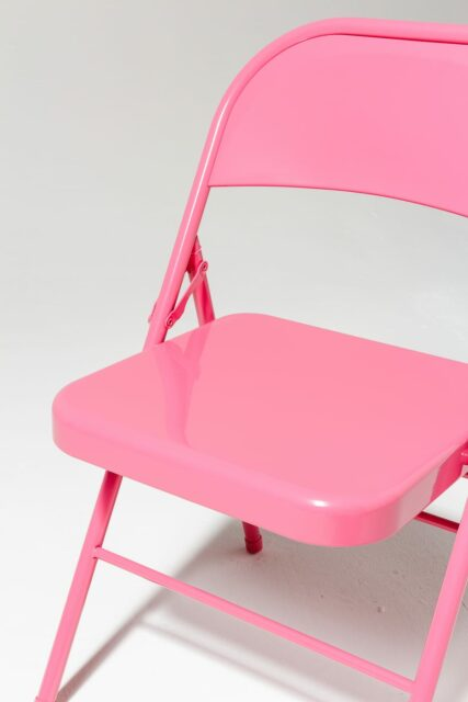 Alternate view 4 of Pink Folding Chair