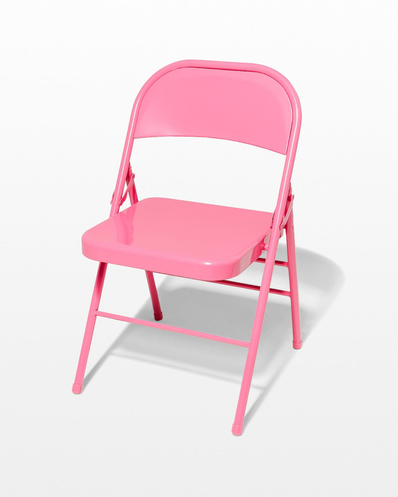 Surprising Ch443 Pink Folding Chair Prop Rental Acme Brooklyn Ncnpc Chair Design For Home Ncnpcorg
