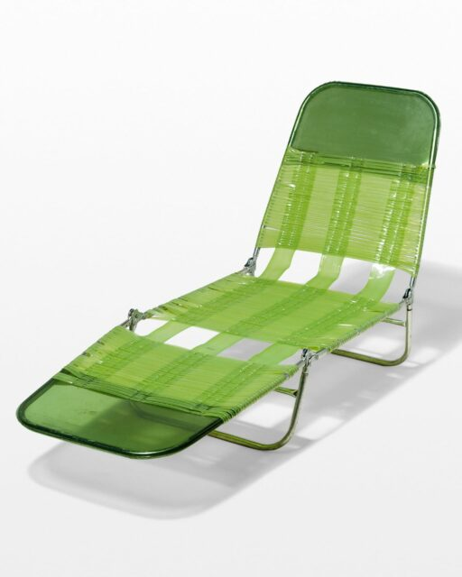 Front view of Gigi Beach Chair