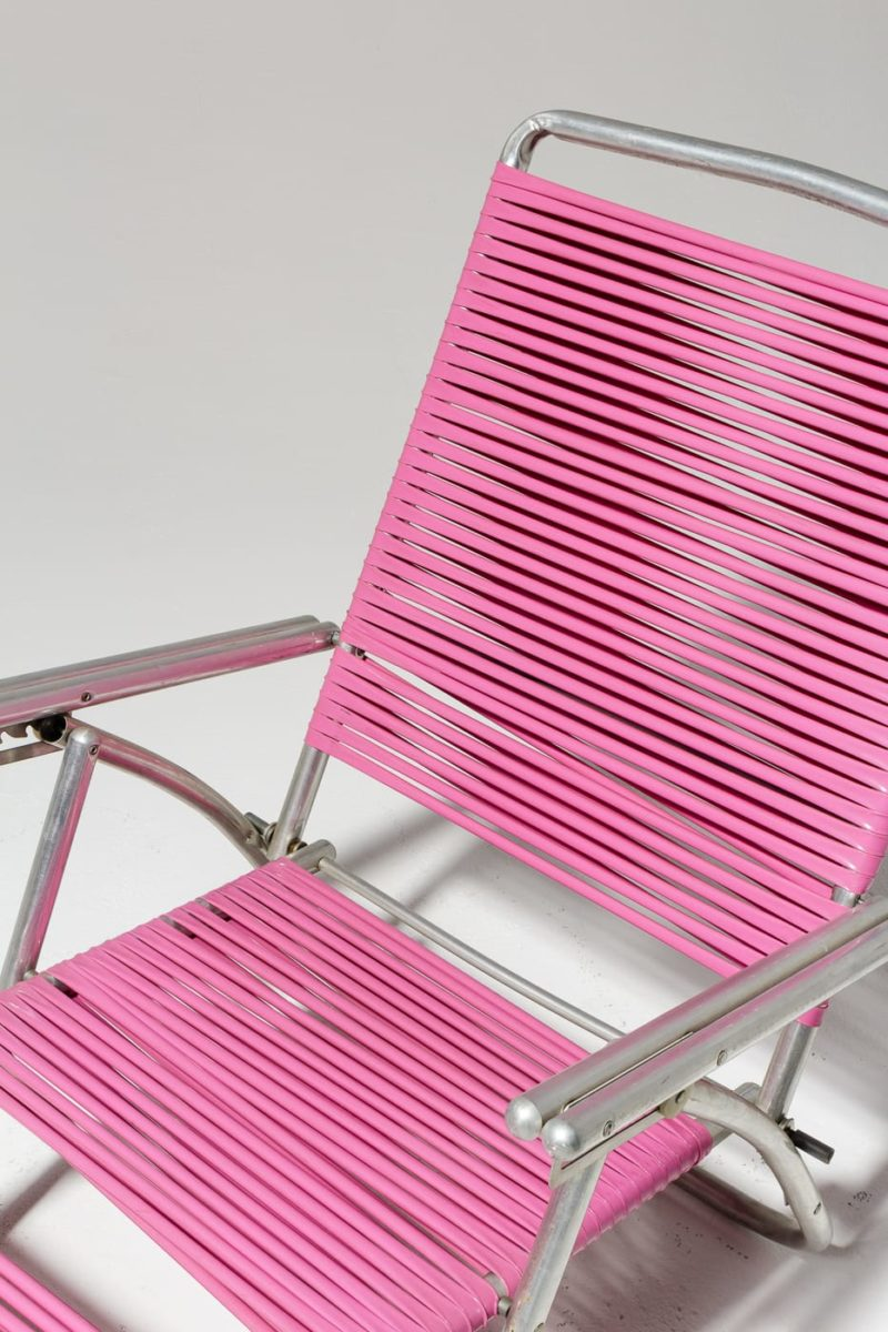 Alternate view 4 of Victoria Pink Beach Lounge Chair