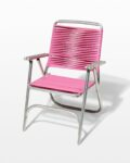 Front view thumbnail of Victoria Pink Beach Chair