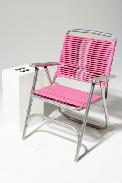 Alternate view 1 of Victoria Pink Beach Chair