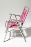 Alternate view thumbnail 2 of Victoria Pink Beach Chair