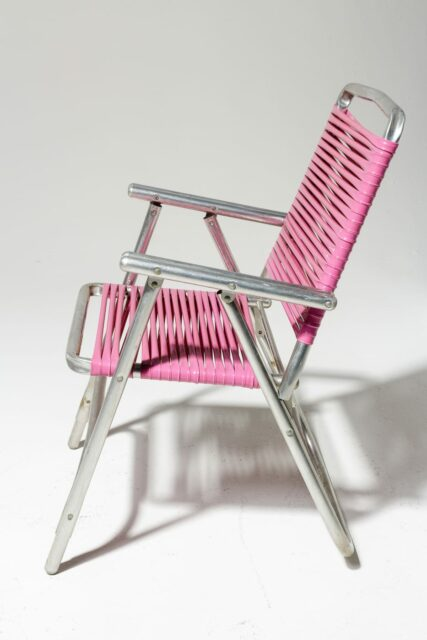 Alternate view 2 of Victoria Pink Beach Chair