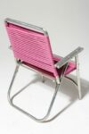 Alternate view thumbnail 3 of Victoria Pink Beach Chair