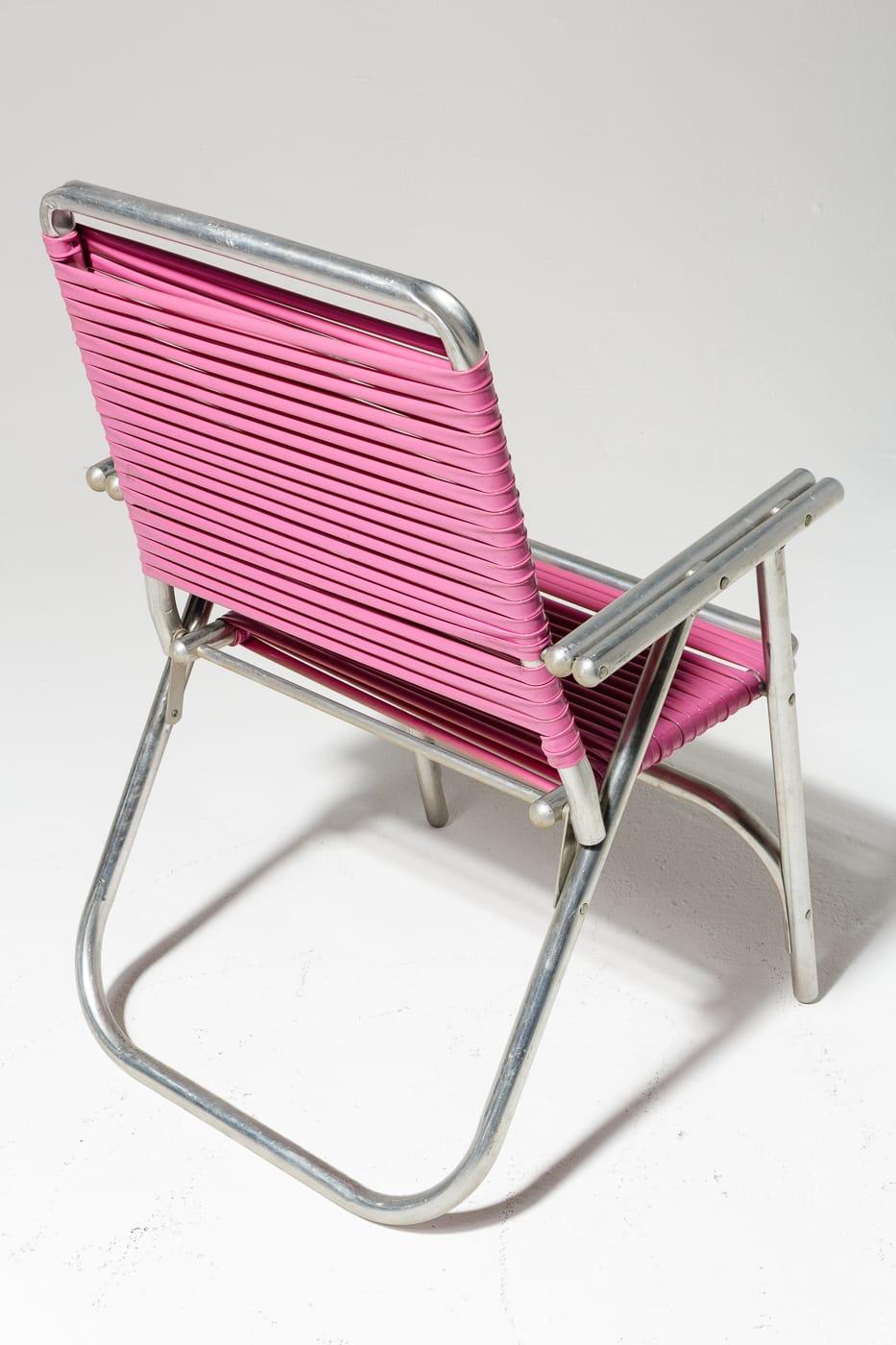 Ch447 Victoria Pink Beach Chair Prop Rental Acme Brooklyn
