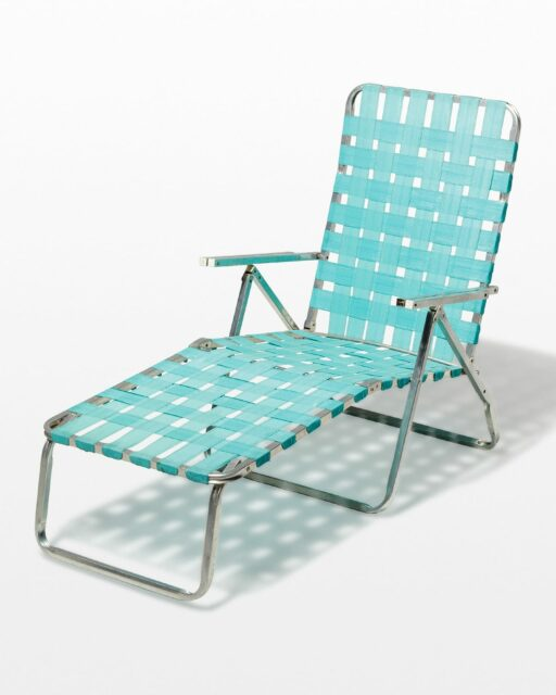 Front view of Louis Beach Chair