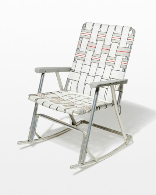 Front view of Meghan Folding Rocking Chair