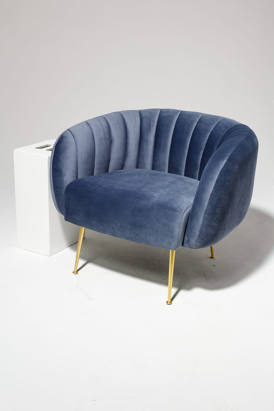 Ch455 Lucille Chair Prop Rental Acme Brooklyn