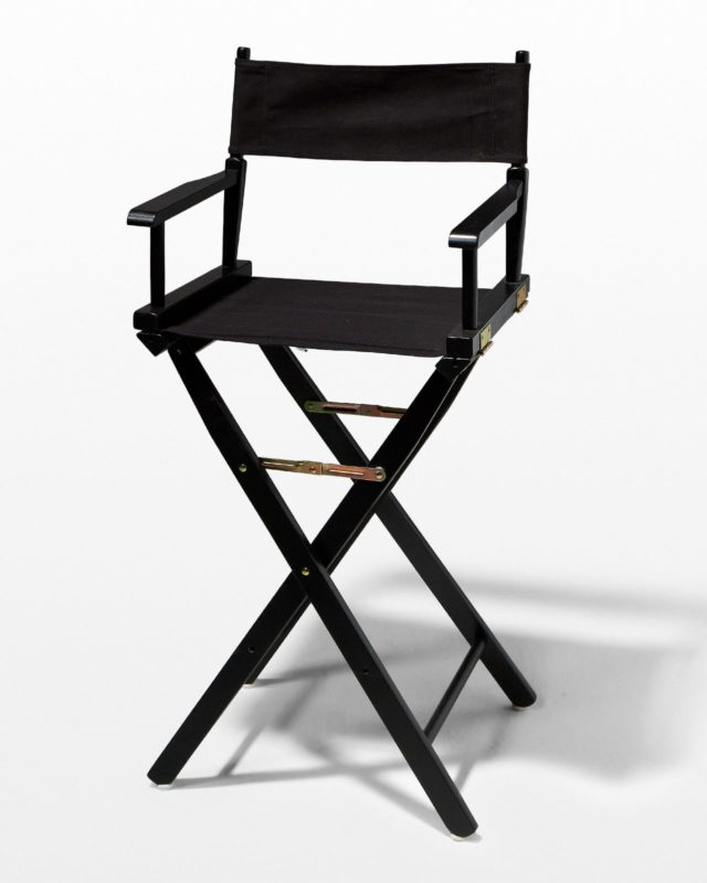 Front view of Monochrome Director's Chair