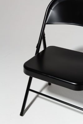 Alternate view 4 of Ink Black Folding Chair