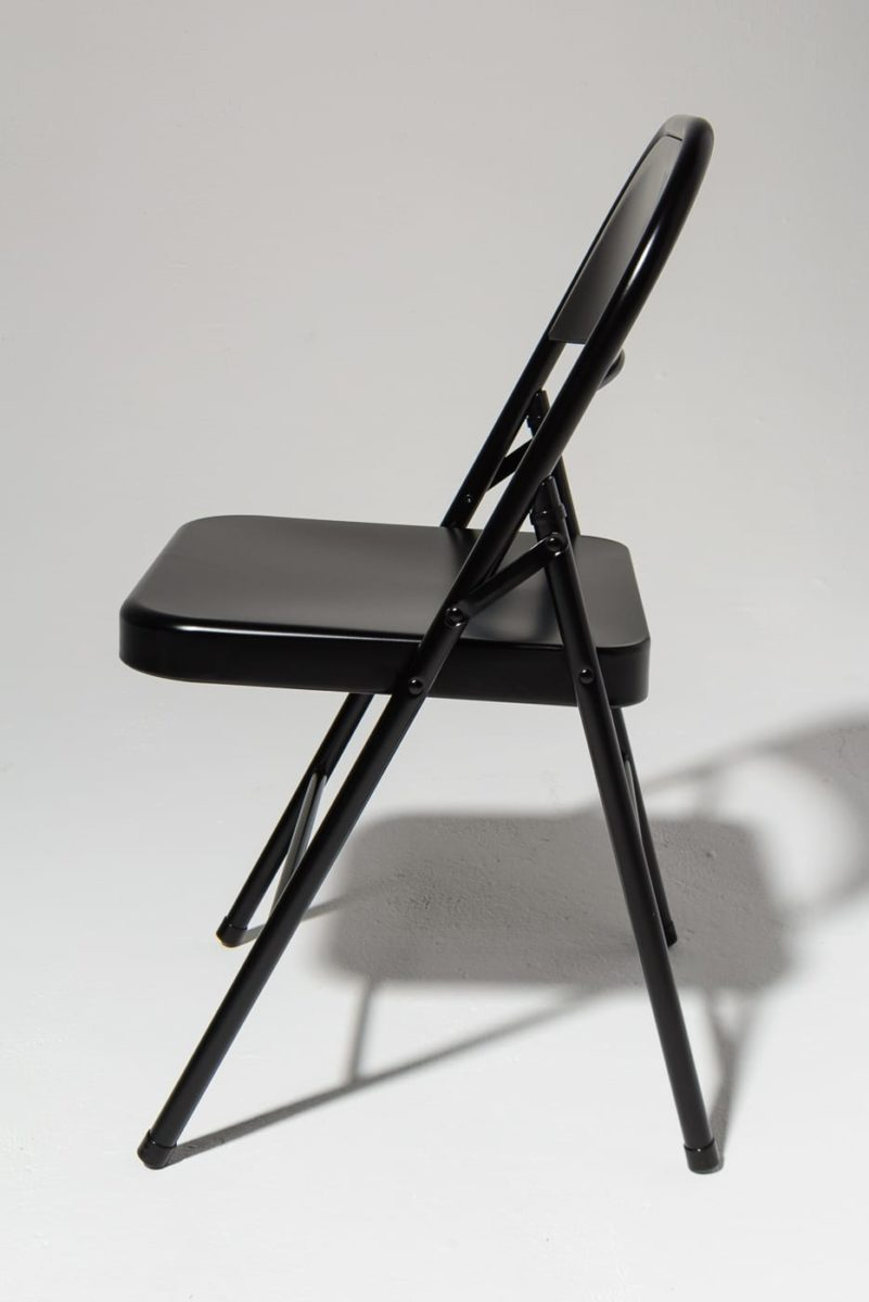 Alternate view 2 of Ink Black Folding Chair