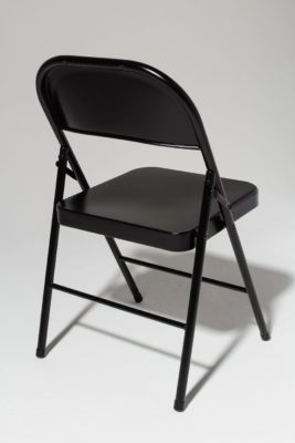 Alternate view 3 of Ink Black Folding Chair