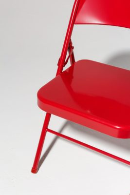 Alternate view 4 of Ruby Red Folding Chair