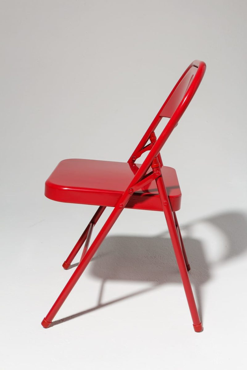 Alternate view 3 of Ruby Red Folding Chair