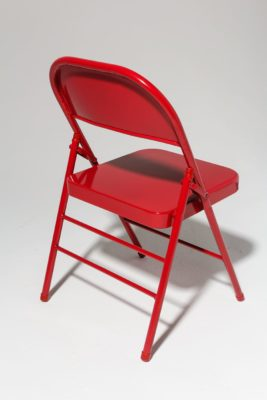 Alternate view 2 of Ruby Red Folding Chair
