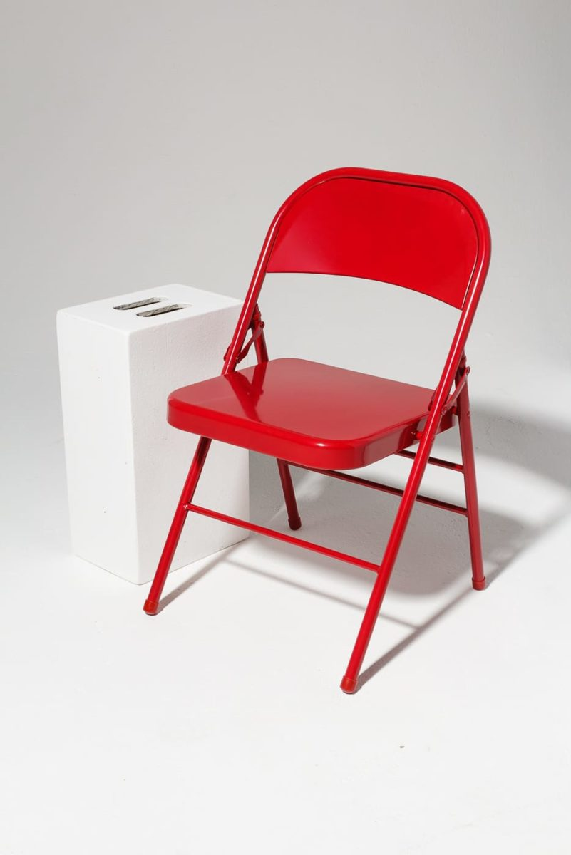 Alternate view 1 of Ruby Red Folding Chair