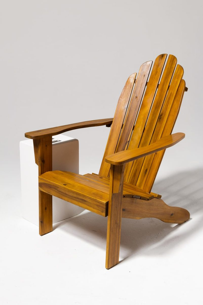 Alternate view 1 of Province Natural Wood Adirondack Chair