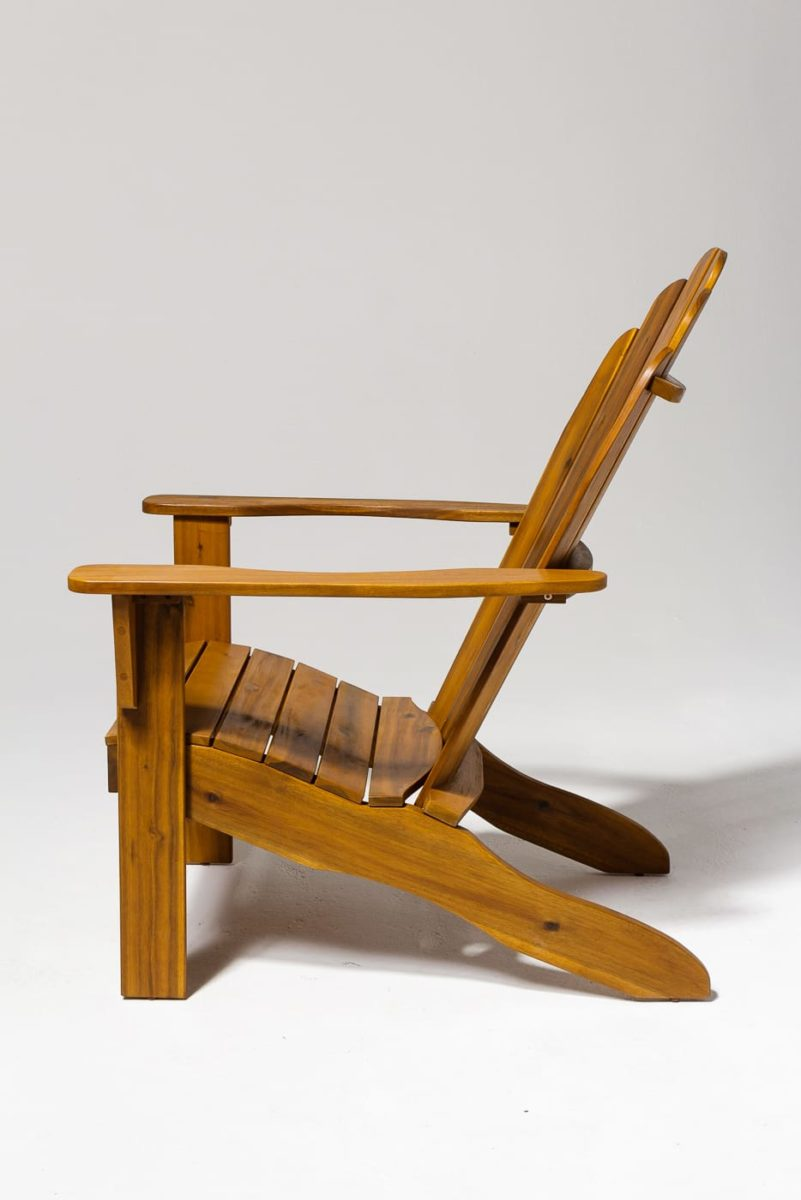 Alternate view 2 of Province Natural Wood Adirondack Chair