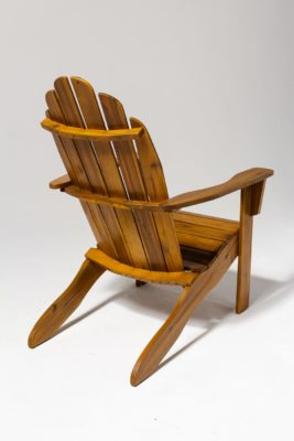Alternate view 3 of Province Natural Wood Adirondack Chair