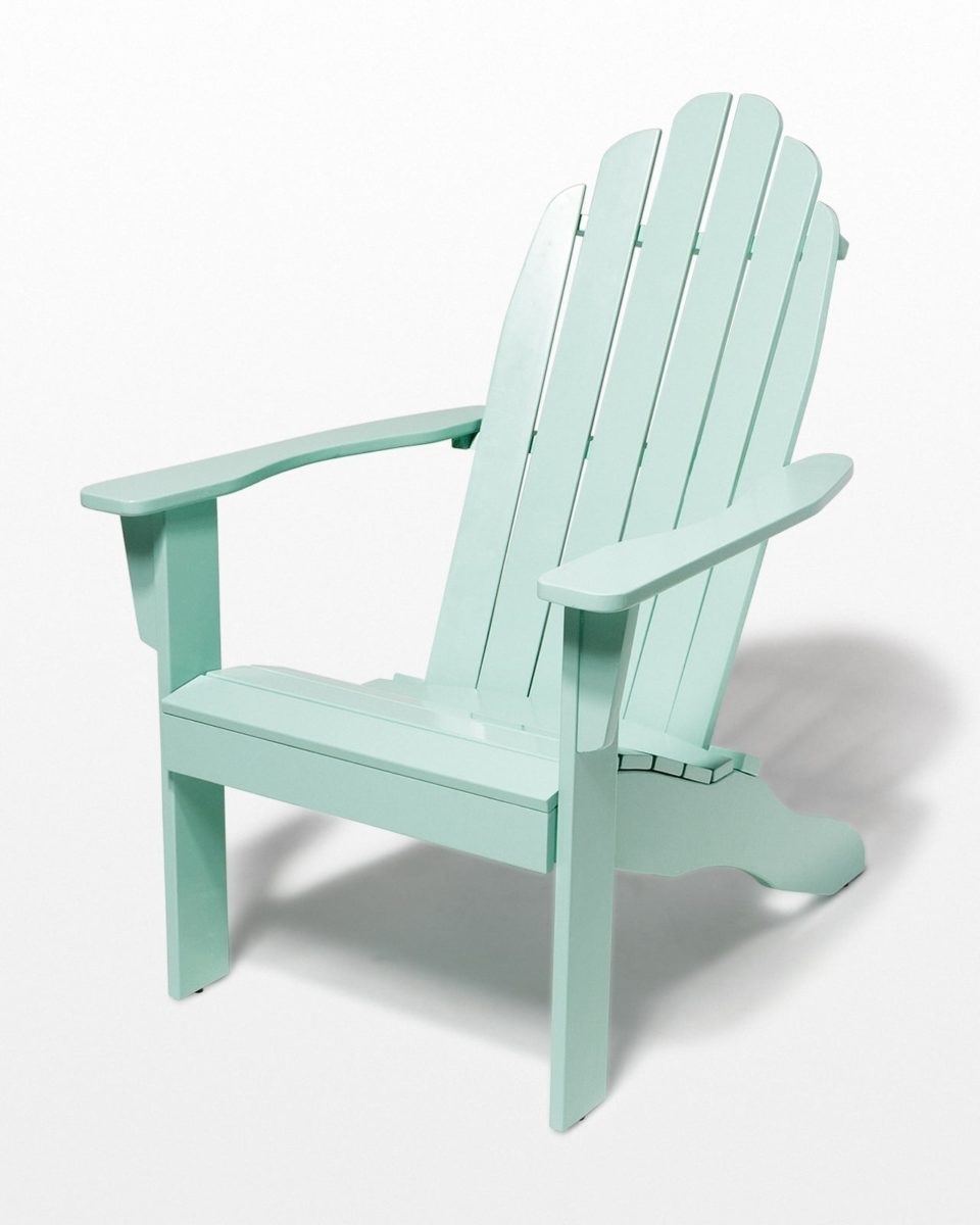 Front view of Bluff Mint Adirondack Chair