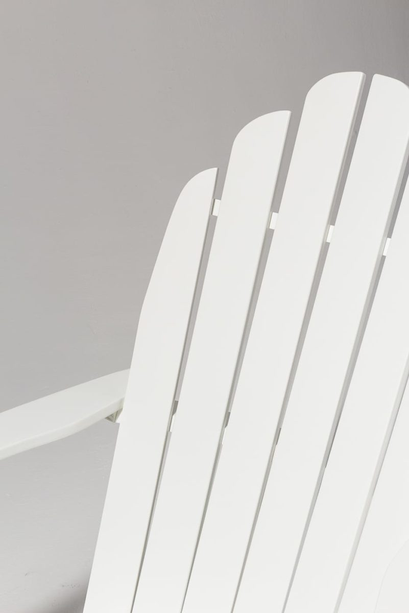 Alternate view 4 of Newport White Adirondack Chair