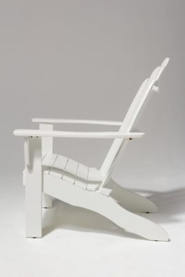 Alternate view 3 of Newport White Adirondack Chair
