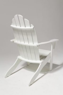 Alternate view 2 of Newport White Adirondack Chair