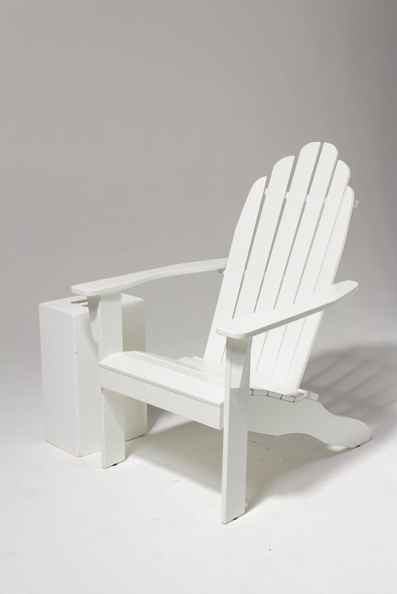 Alternate view 1 of Newport White Adirondack Chair
