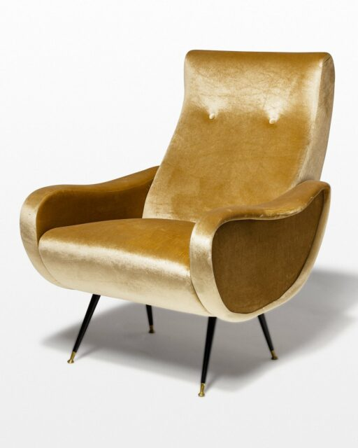 Front view of Milan Armchair