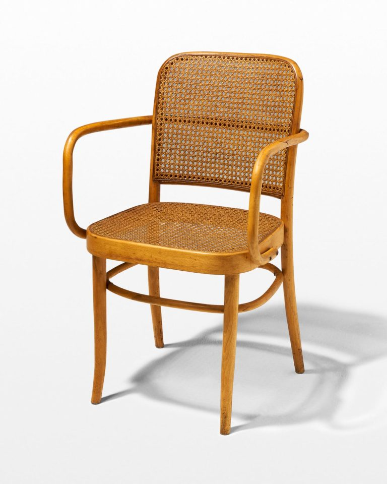 Front view of Waverley Bentwood Cane Chair