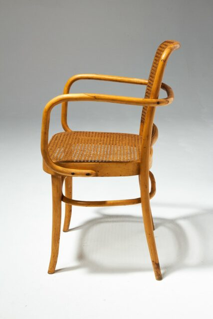 Alternate view 4 of Waverley Bentwood Cane Chair