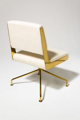 Alternate view 2 of Gaby Gold Swivel Chair