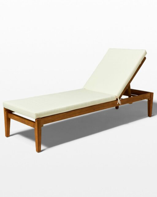Front view of Clara Pool Lounge Chair