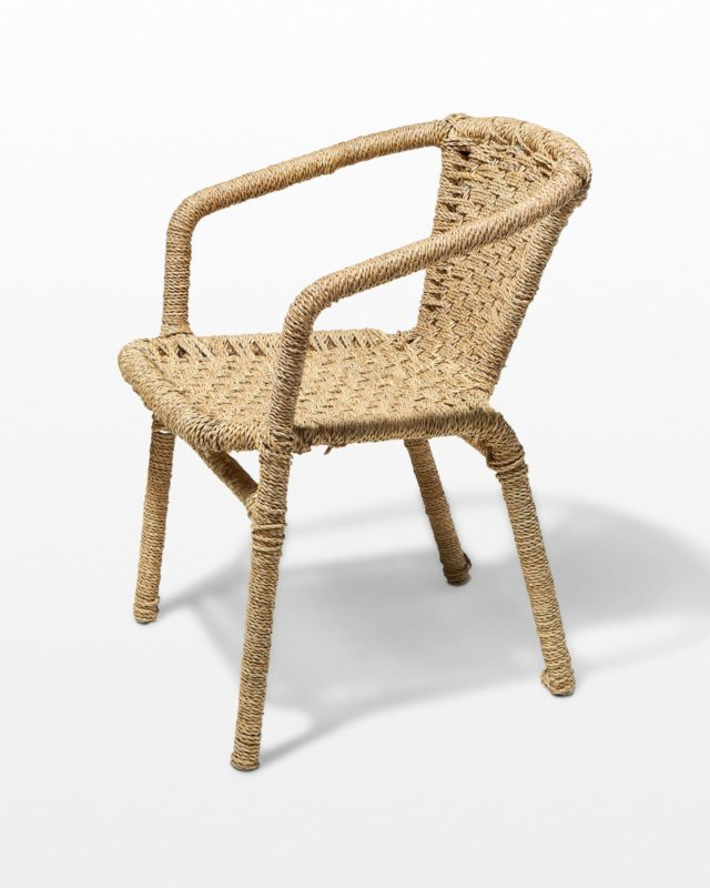 Front view of Erika Cord Chair