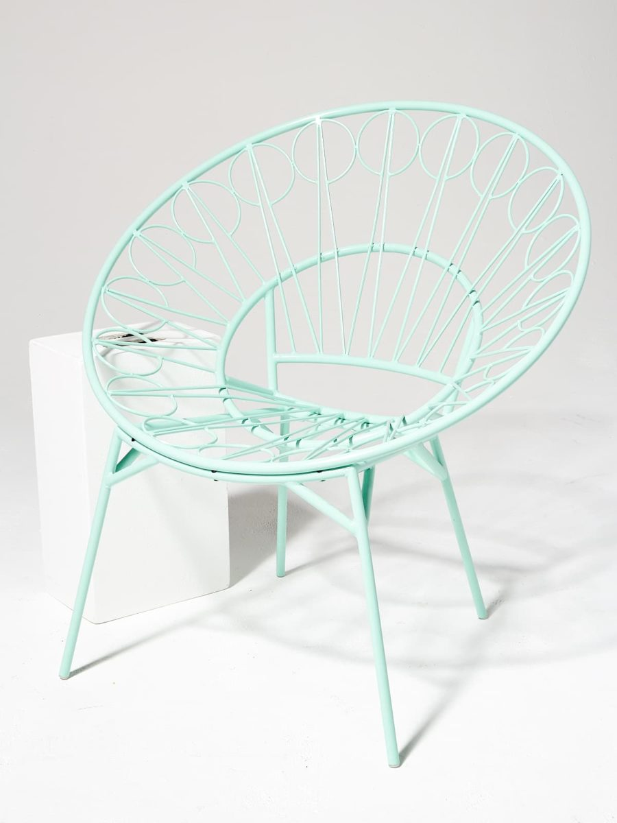 Alternate view 1 of Lori Mint Ring Chair